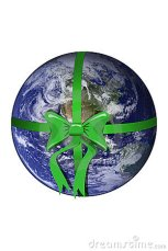 planet-earth-green-bow-17089463